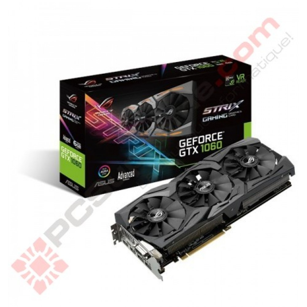 Asus Nvidia Strix GTX 1060 Gaming Advanced 6GB